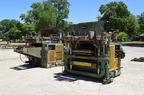 GLES GLOBAL COLUMBIA MACHINE MODEL 1600 For Sale